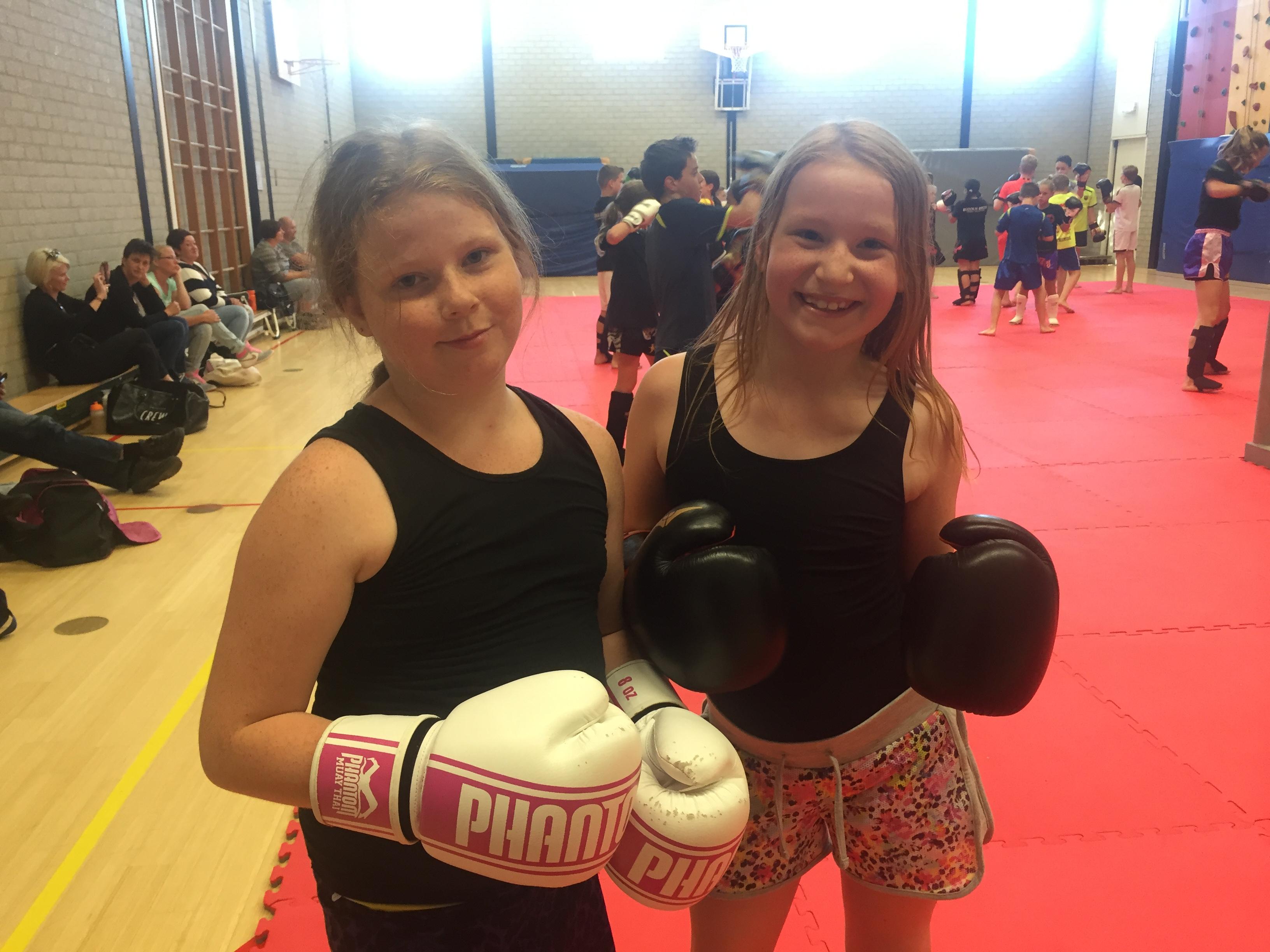 Vriendenweek kickboxing juli 2016